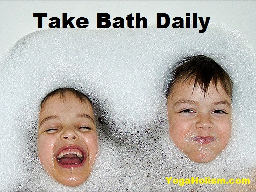 Take Bath Daily