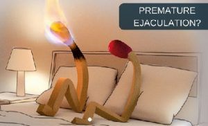ejaculate prematurely
