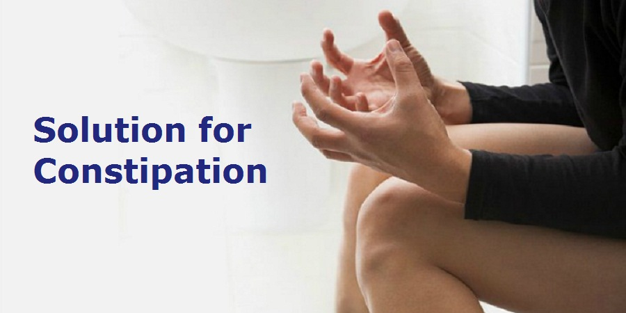 Solution for Constipation