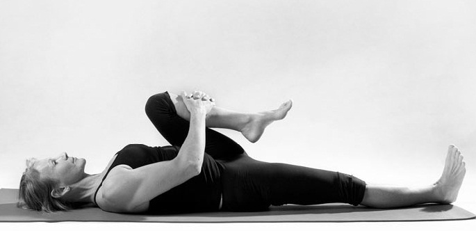 Yogic Exercise -The Knee Fold