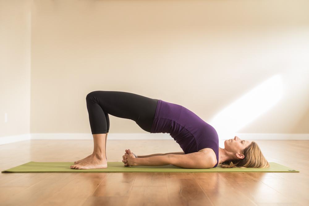 Bridge-pose-steps-benefits-and-precautions