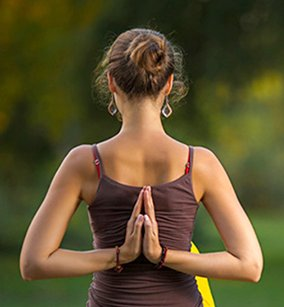 prayer pose  benefits steps precautions  variations
