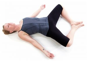 Reclining Bound Angle Pose steps