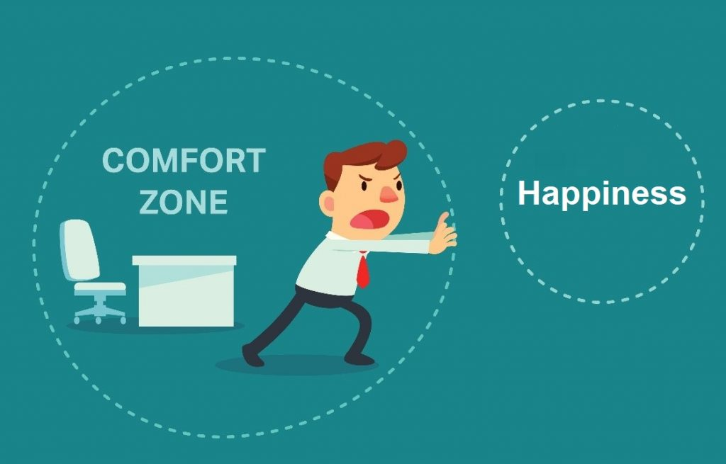 go out your comfort zone