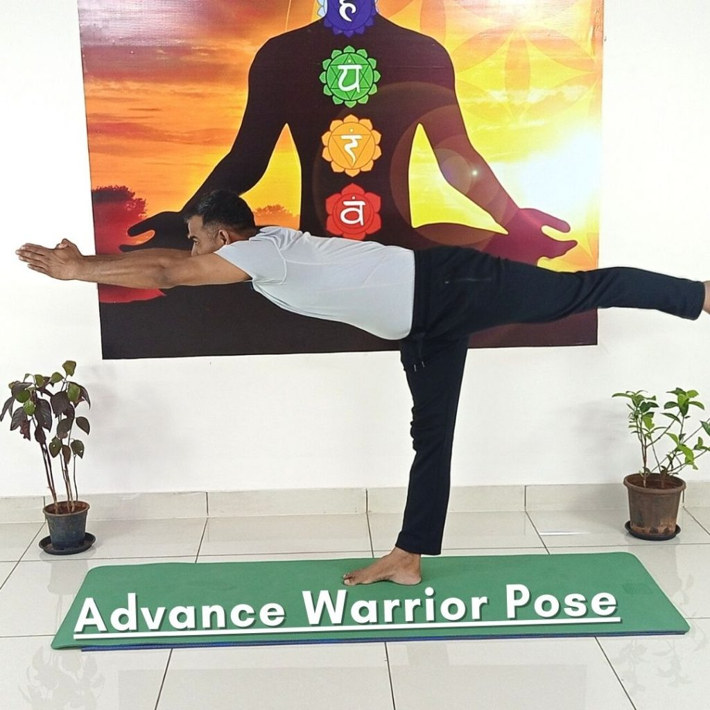 advance Warrior Pose