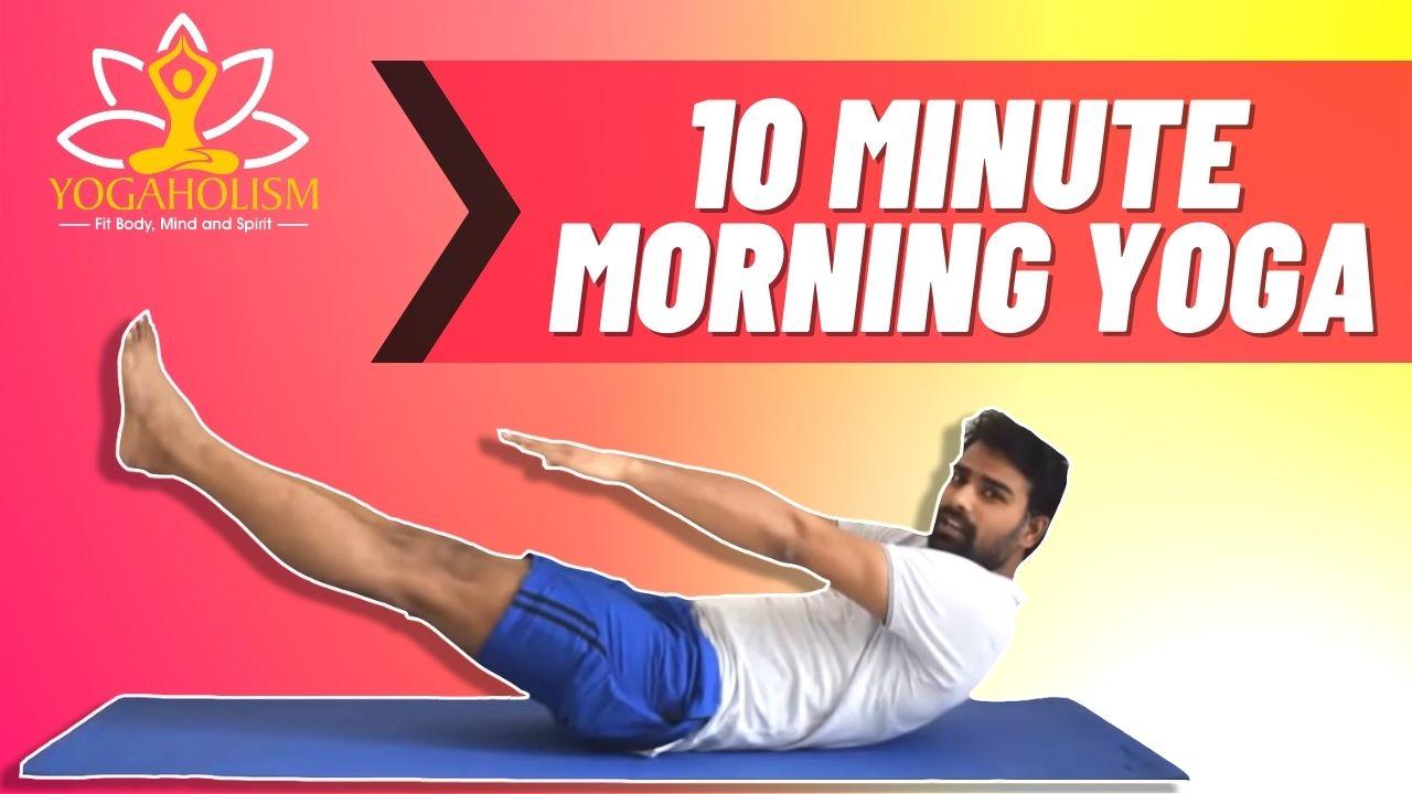 10min morning yoga