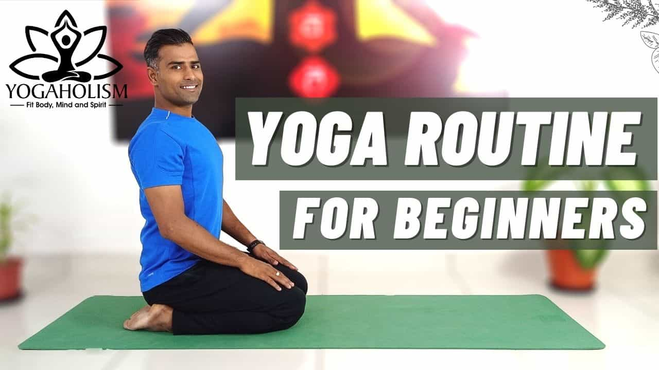 yoga routine for beginners